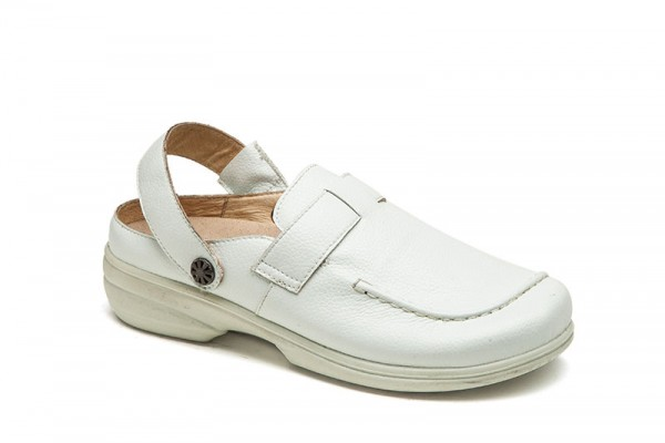 2820 WEISS SOFTNAPPA DAMEN CLOGS