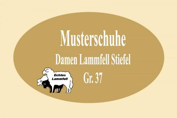 DAMEN LAMMFELL STIEFEL MUSTER