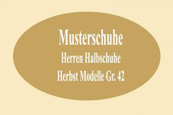 HERREN HALBSCHUHE MUSTER HERBST